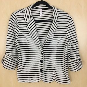 *3 for $15* Xhilaration 3/4 Sleeve Blazer/Jacket L